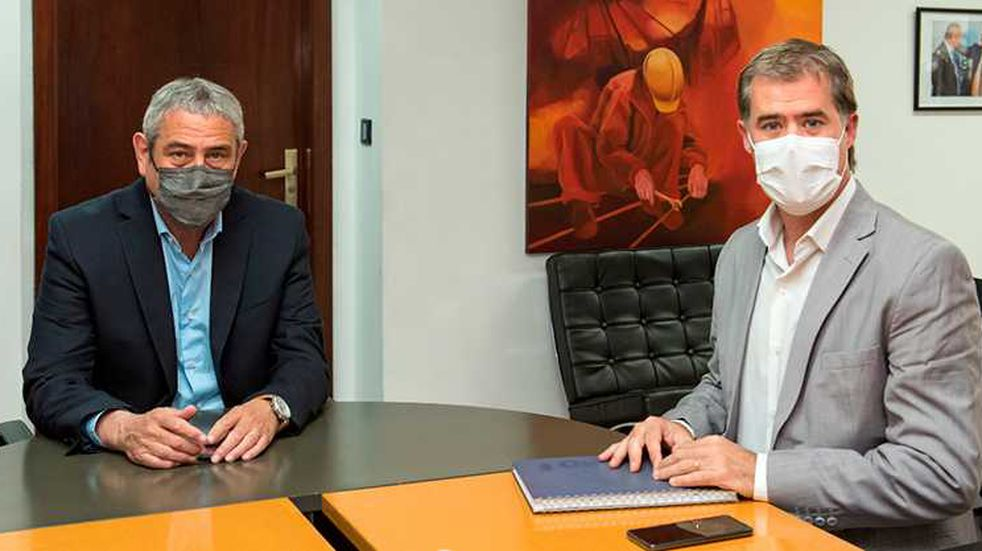Piaggio se reunió con el ministro Jorge Ferraresi