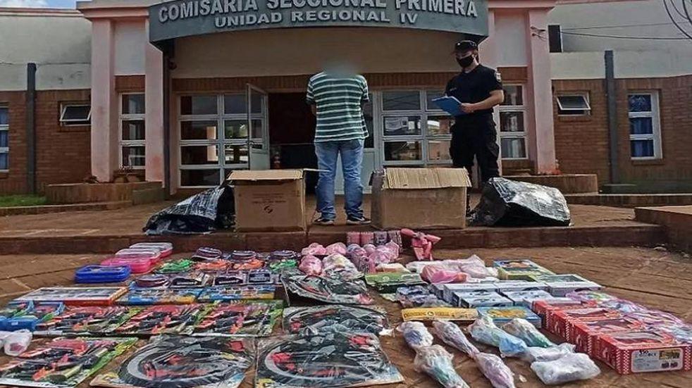 Varios operativos en la zona Norte provincial lograron desbaratar contrabando de objetos