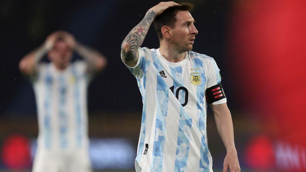 Argentina sufrió y Colombia le empató 2-2 sobre el final por las Eliminatorias Sudamericanas