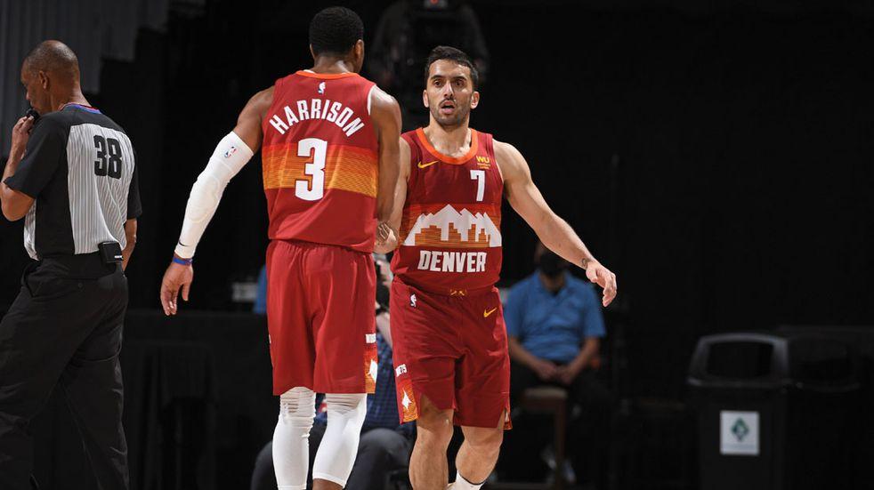 Cordobés en NBA: otra buena noche de Facundo Campazzo, con triunfo de Denver
