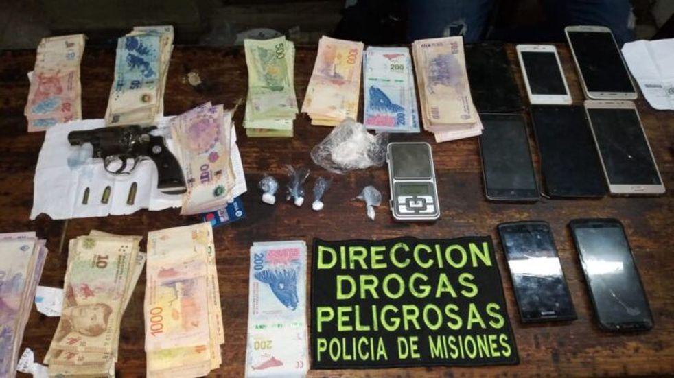Efectivos de la Policía de Misiones dieron nuevo golpe al narcomenudeo en Posadas