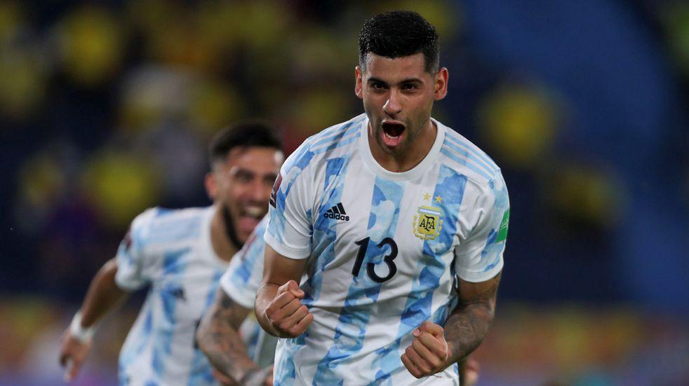 Argentina campeón: el elogio de Scaloni al cordobés Cristian Romero
