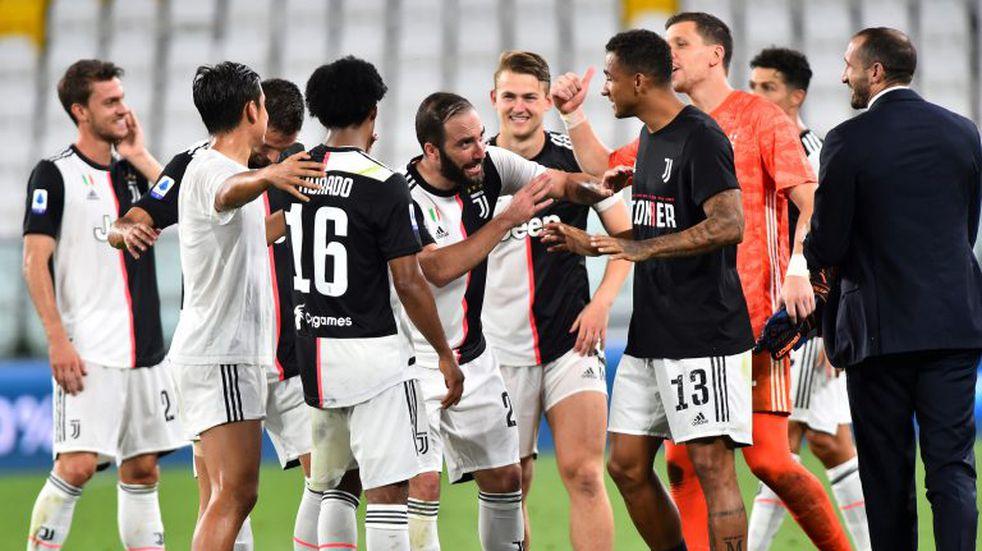 Por novena vez consecutiva, la Juventus se quedó con el campeonato de Italia