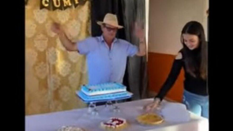"""San Vicente: supuesta fiesta clandestina tiene como protagonista al ex intendente, """"Valdir"""" Dos Santos"""