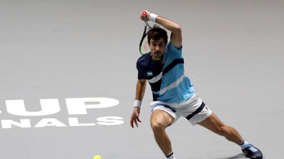Guido Pella derrotó a Nicolás Jarry en el debut argentino de Copa Davis