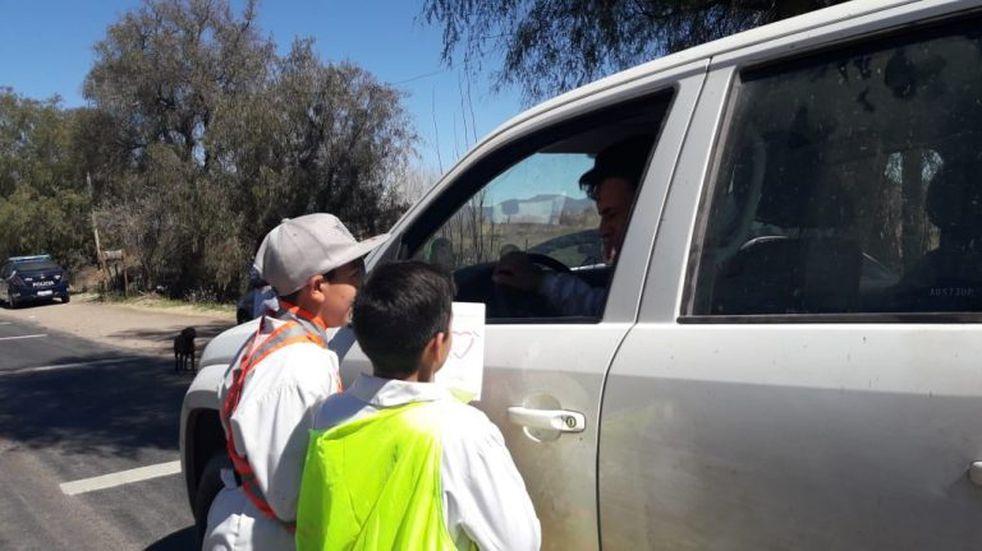 Seguridad vial: alumnos de la escuela Castillo armaron un video