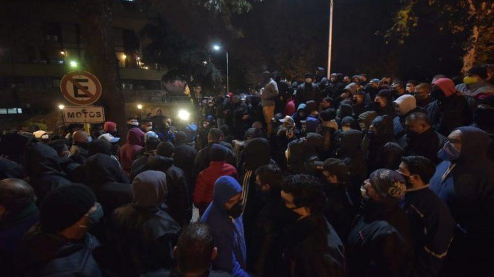 Protesta de UTA: identifican e imputan a 21 trabajadores