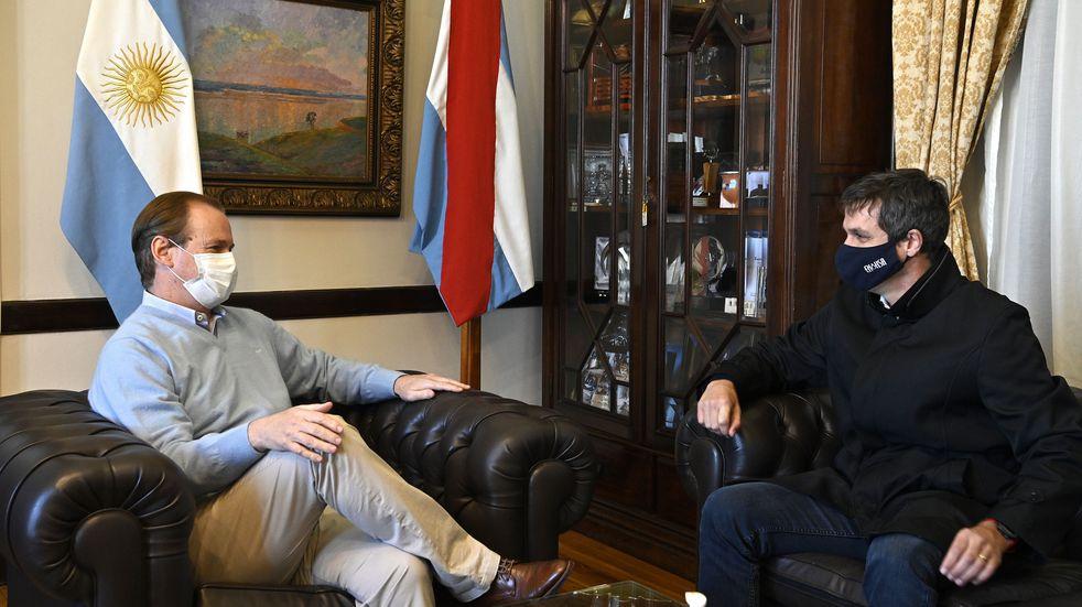 Enrique Cresto se reunió con Gustavo Bordet