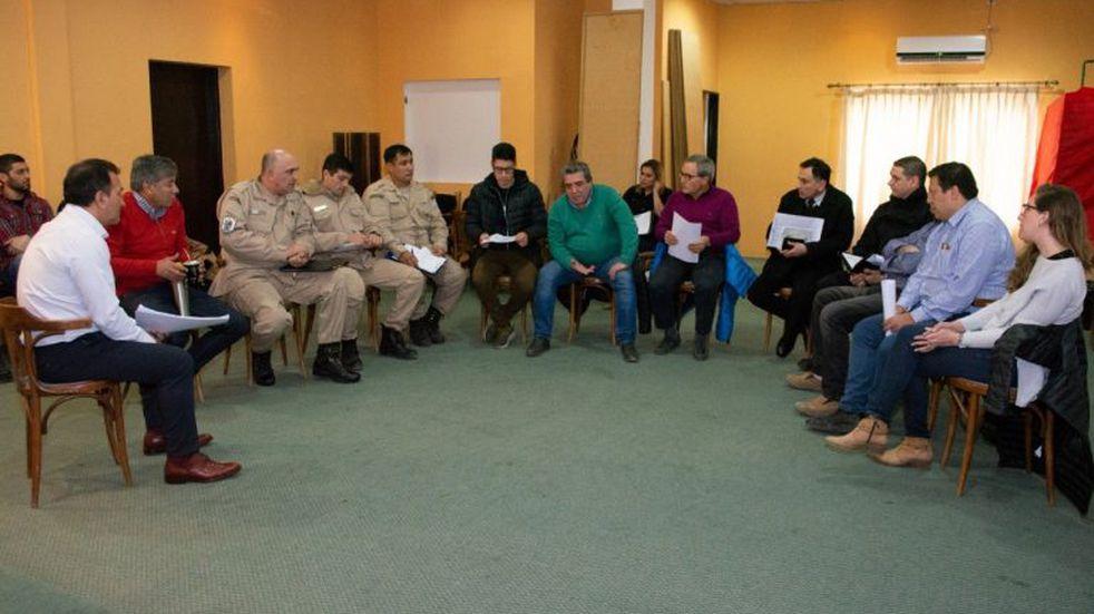 Reunión en Puertos para coordinar todas las acciones frente a la Temporada de Cruceros