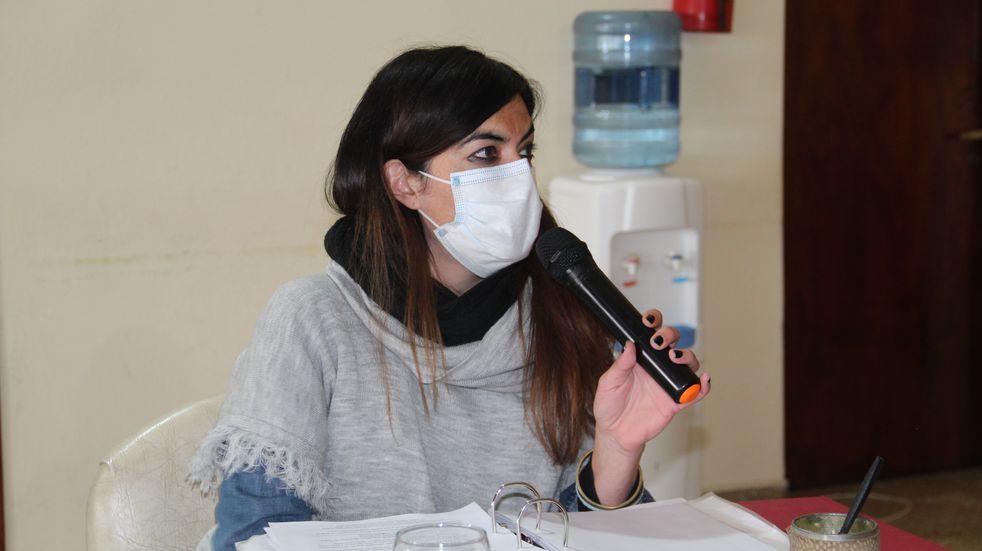 """""""Es preocupante que una vez más el bloque del Frente de Todos se adjudique logros de esta gestión"""", aseguró la concejal Carla Gómez."""