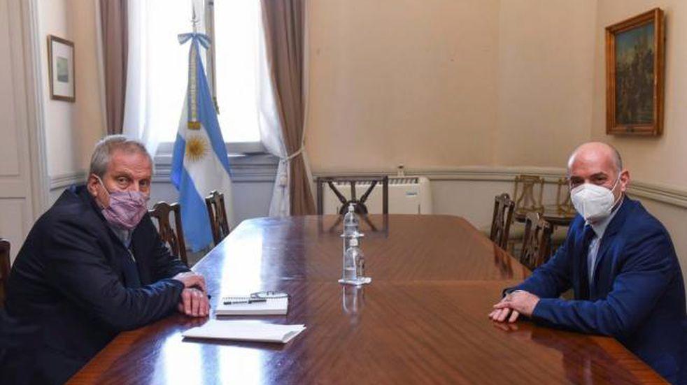 Perczyk y Lichtmajer se reunieron en Buenos Aires.