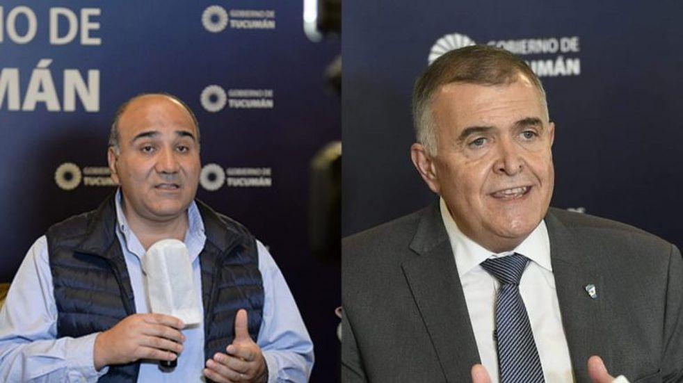 No hubo acuerdo en el peronismo tucumano y Manzur y Jaldo presentaron a sus listas