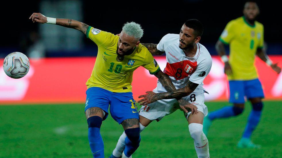 Copa América: Brasil goleó 4-0 a Perú y ya está en cuartos