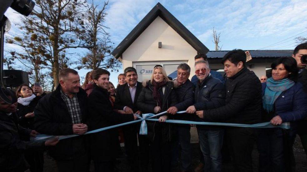 Nueva sede de AREF en Tolhuin