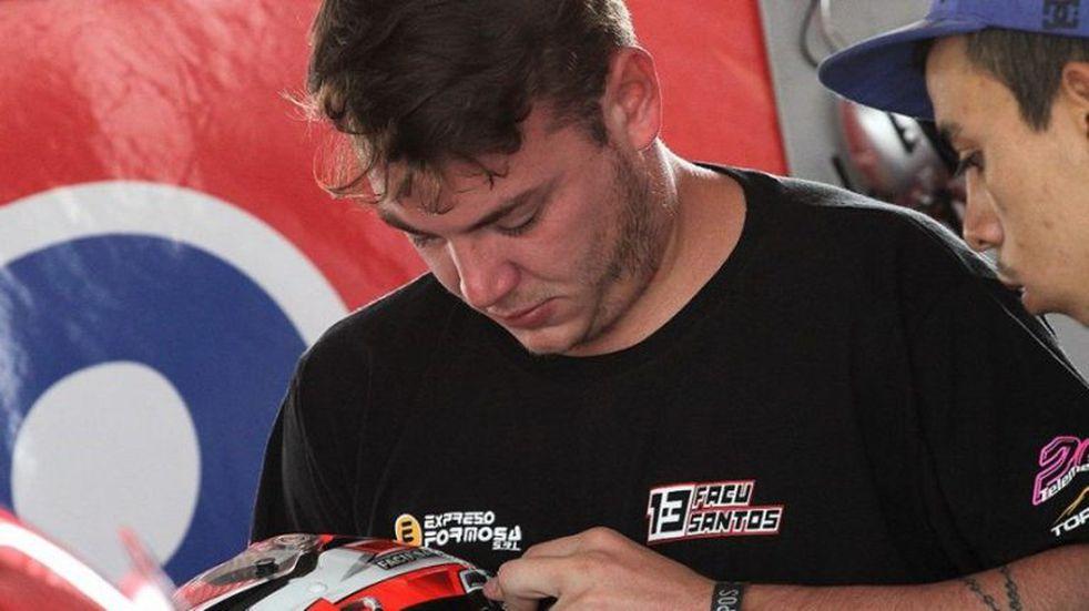 Facundo Santos debutó en el GT Rácing
