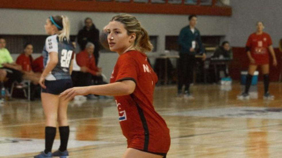 Balonmano: Agustina Cuello marca presencia en ASD Handball Chiaravalle