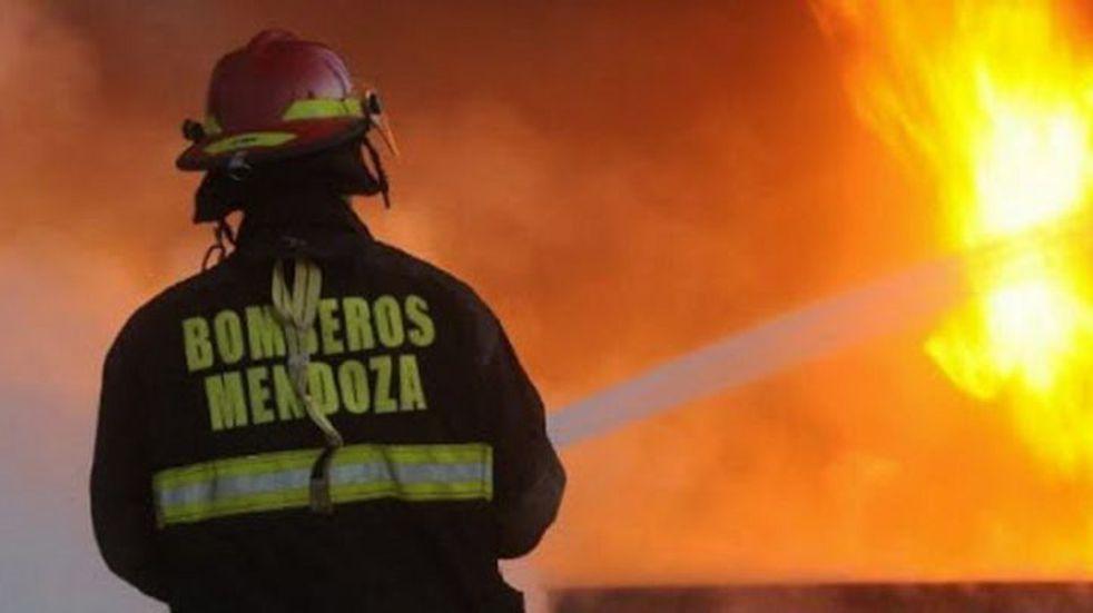 Falleció un hombre en un incendio en Lavalle