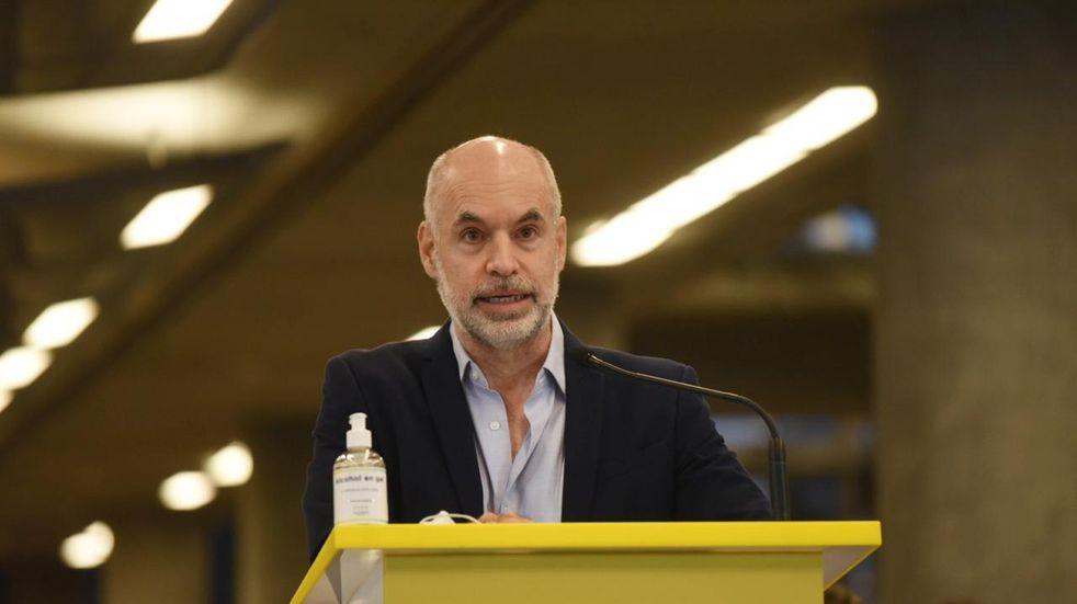 """Rodríguez Larreta argumentó que """"la reducción de obras en los educativo"""" es por la baja de coparticipación"""