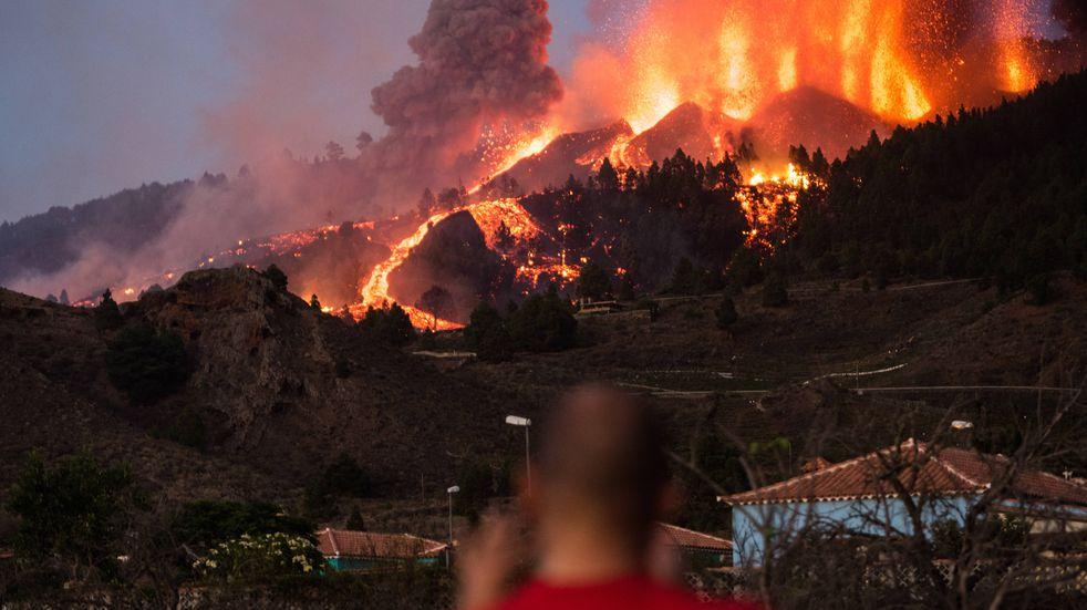 Ya son 6200 los evacuados en La Palma. (DPA)