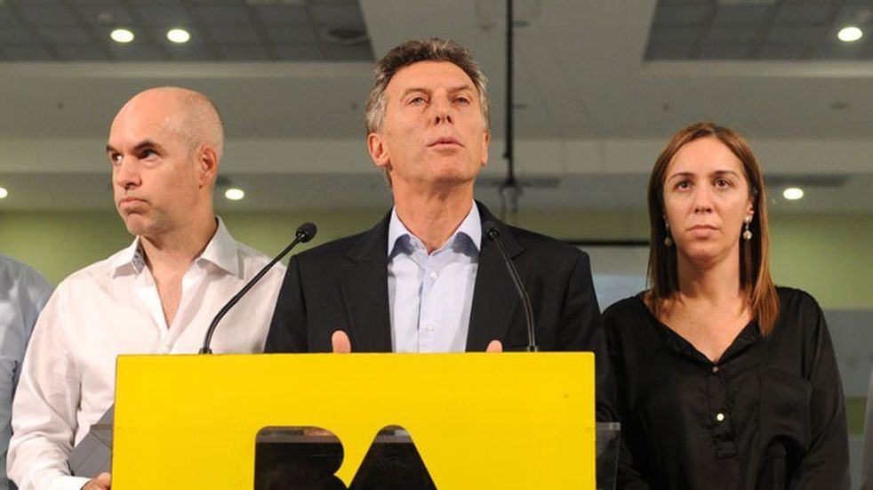 Mauricio Macri se reunió con la mesa chica de Cambiemos en Olivos