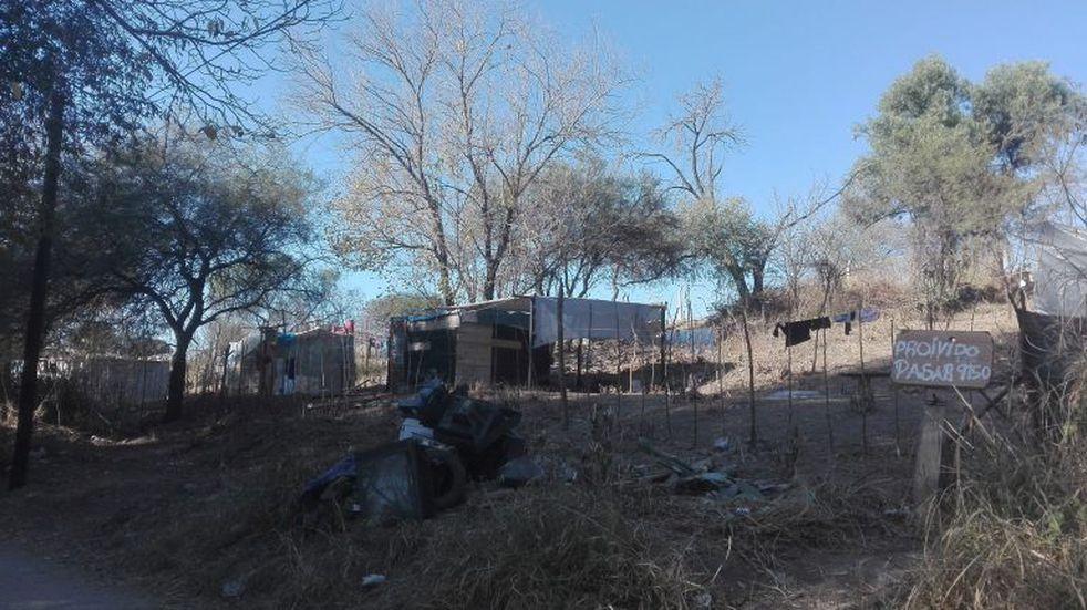 Asentamiento en terreno privado: vecinos piden no ser desalojados