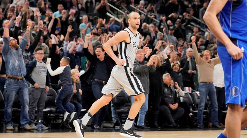 NBA: Manu Ginóbili está quinto en la votación del All Star Game