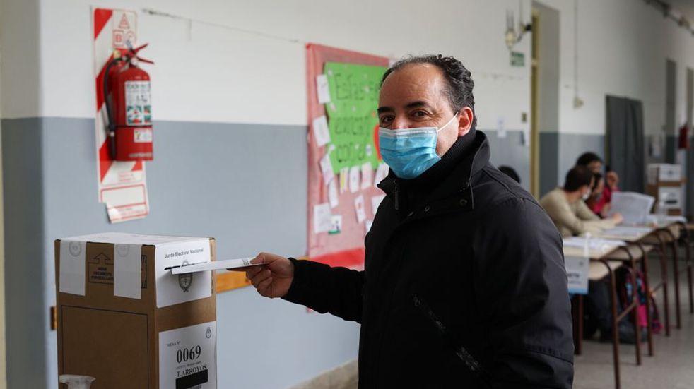 Elecciones PASO en Tres Arroyos: Votó Marcelo León