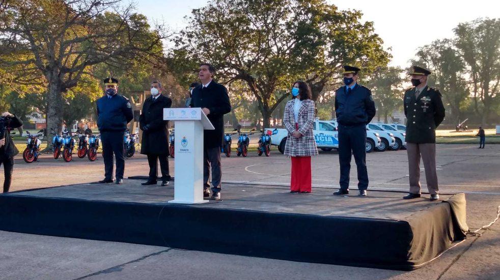 El Gobierno de la provincia aumentará el salario de la Policía del Chaco.