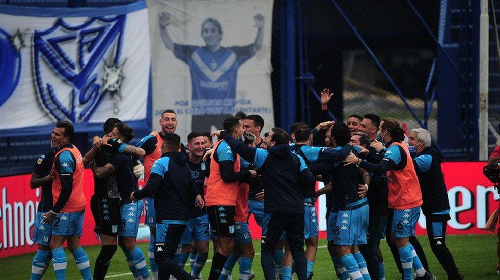 Racing superó a Vélez en los penales y está en semifinales de la Copa de la Liga