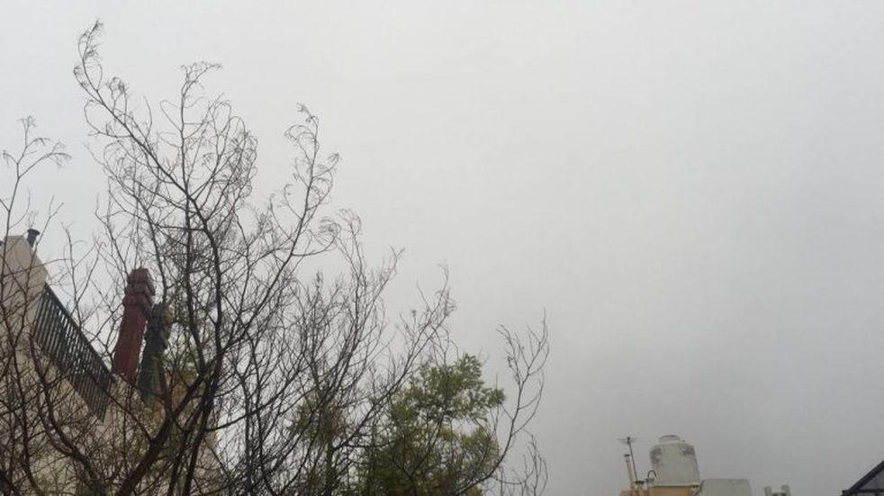 Martes nublado en San Luis