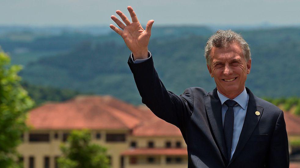 """Mauricio Macri: """"No me arrepiento de haber ido al Fondo Monetario Internacional"""""""