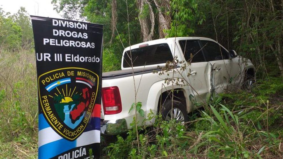 Eldorado: Policías hallaron una camioneta que había sido sustraída hace unos meses