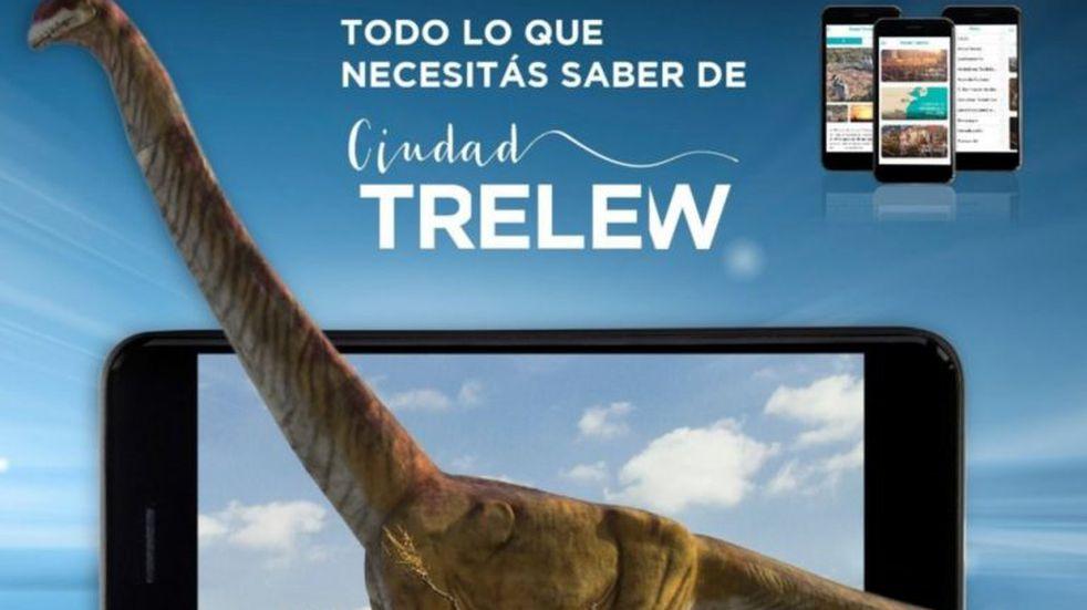 Trelew lanzó una aplicación para ofrecer información turística en teléfonos celulares