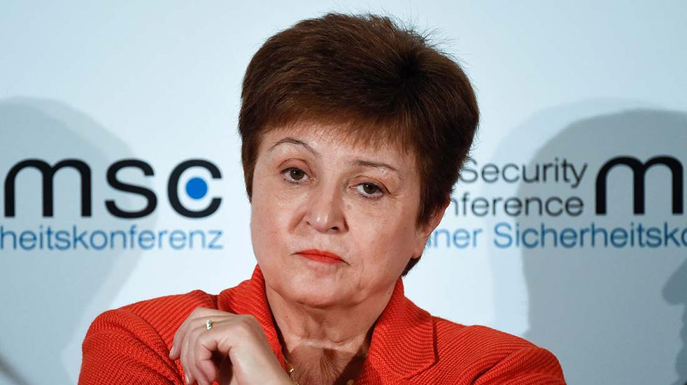 Kristalina Gerogieva del FMI