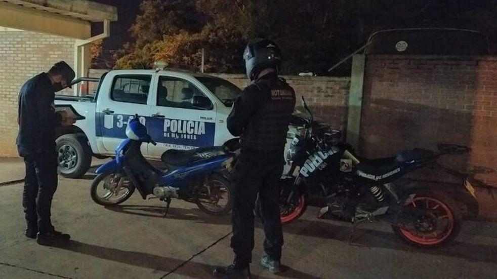 Efectivos policiales recuperaron una motocicleta sustraída en Oberá.
