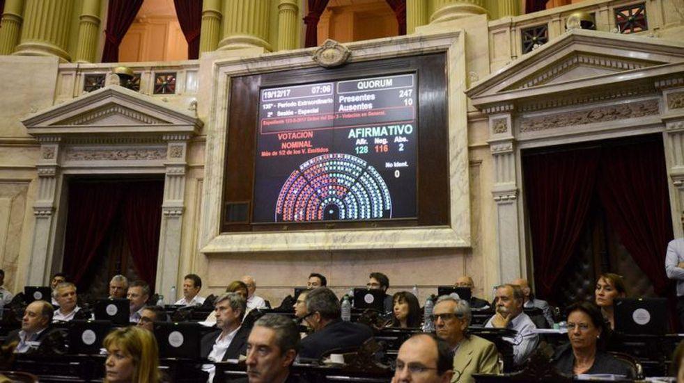 Luego de un largo debate, se aprobó la reforma previsional