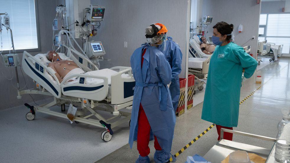 Coronavirus: Nadal confirmó que hay un 90% de ocupación de camas de terapia intensiva en Mendoza