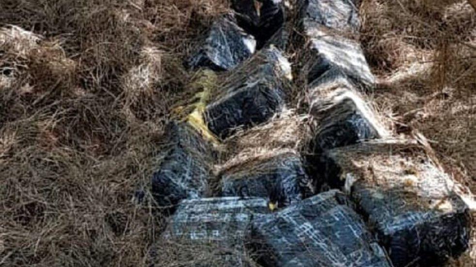 Decomisaron casi dos toneladas de marihuana en Puerto Esperanza