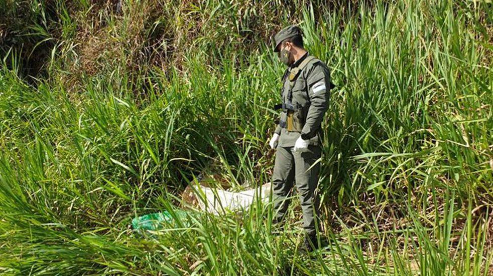 Incautaron más de 55 kilogramos de marihuana en Puerto Iguazú