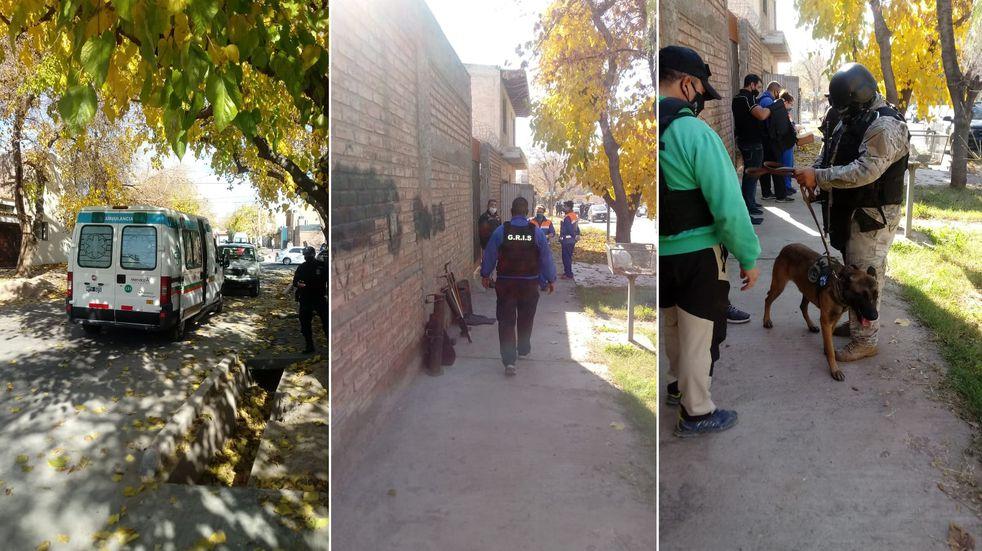 Policía armado se atrincheró y tomó de rehén a su ex pareja