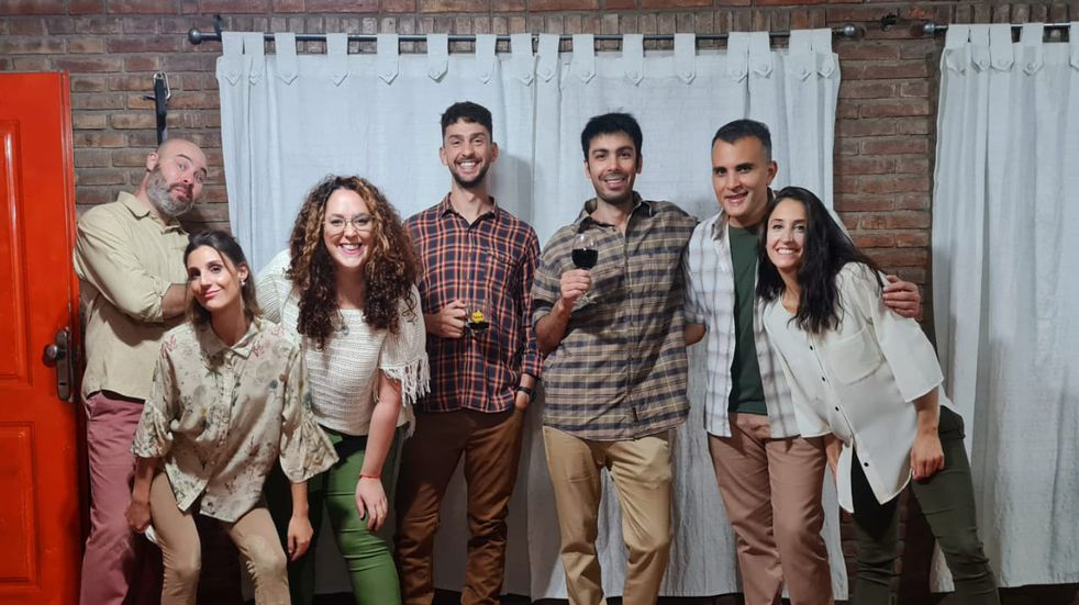La Tostadora, un grupo de improvisación mendocino que se presenta este domingo.