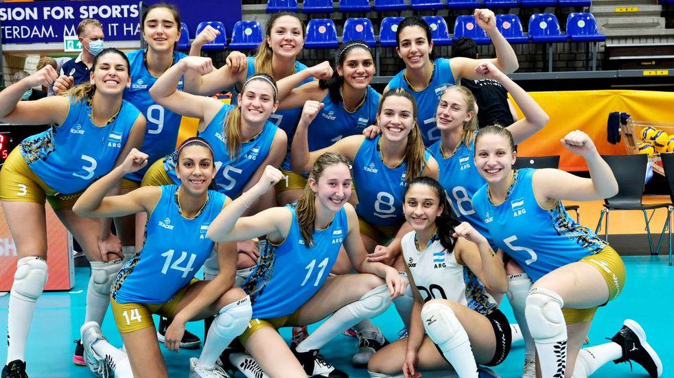Las Panteritas: con la capitana sanjuanina Guadalupe Martín Argentina jugará el playoff del Mundial Sub 20