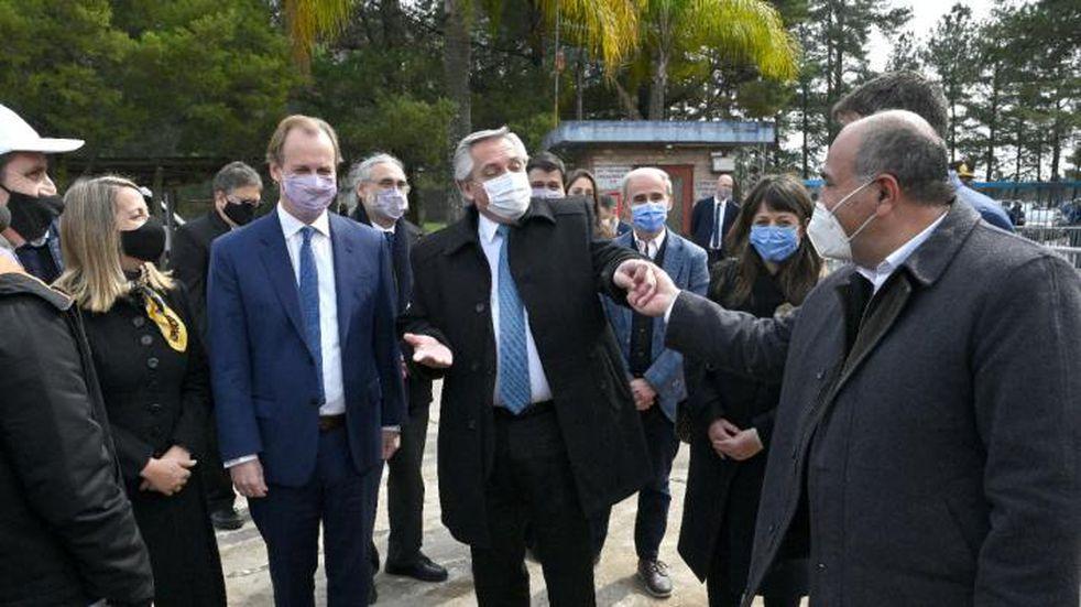Manzur acompañó al Presidente en el lanzamiento del plan de promoción del empleo registrado