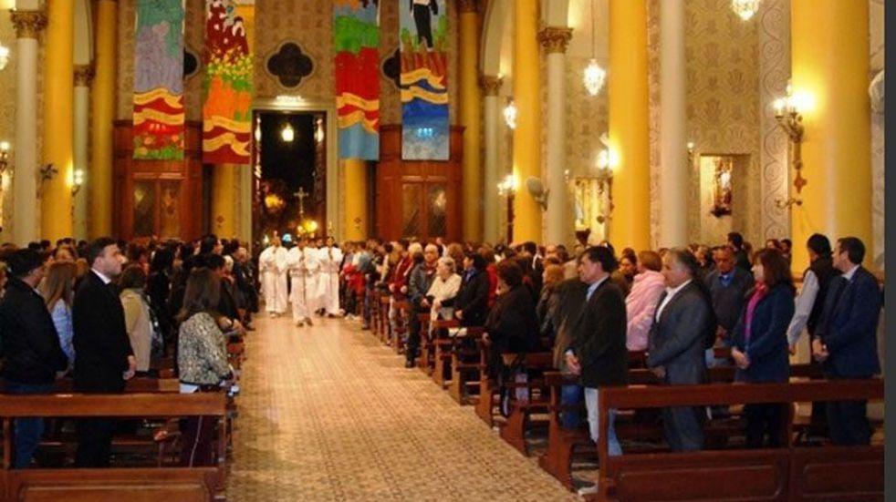 Última misa de Marcelo Colombo