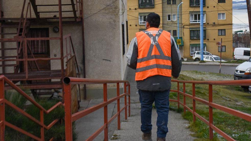 Atención al Vecino impulsó una encuesta en el barrio 245 Viviendas, a fin de escuchar a los vecinos