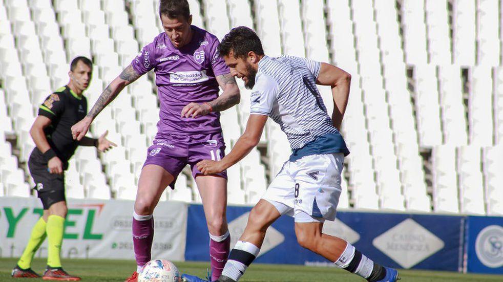 Independiente Rivadavia y Villa Dálmine igualaron 1-1 en el torneo de la Primera Nacional