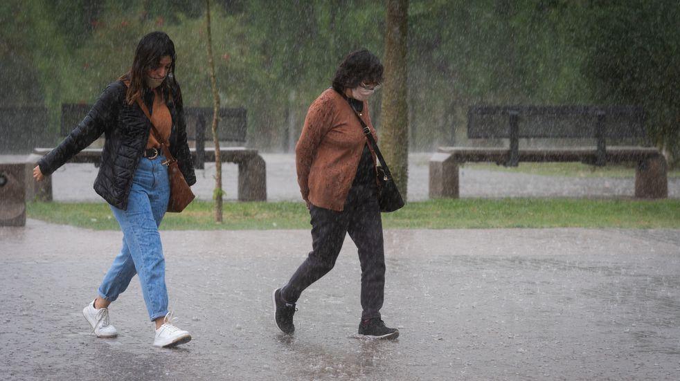 Martes frío y con alerta por tormentas en Mendoza
