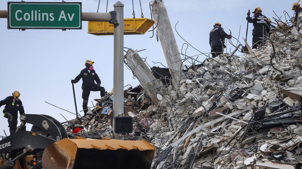 Derrumbe en Miami: ascienden a 36 los muertos por el derrumbe del edificio