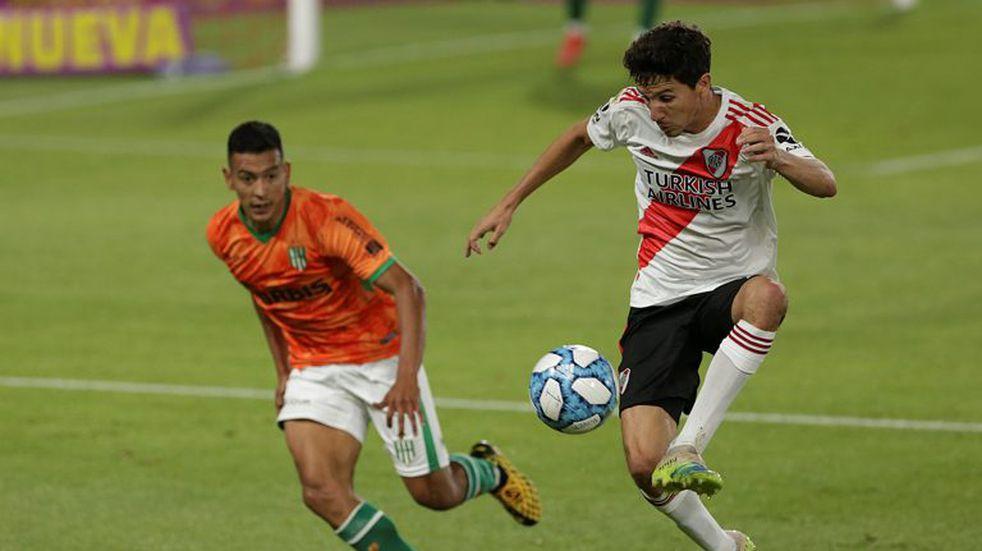 Nacho Fernández recibió el alta médica y se entrenó con River