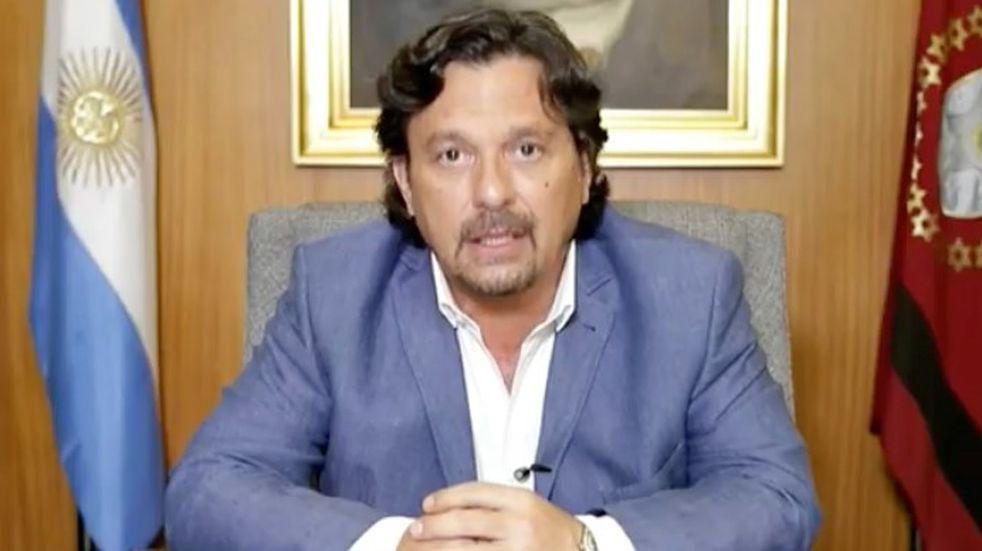 Sáenz endureció las medidas contra el coronavirus en Salta.